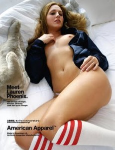 What is American Apparel trying to sell you?